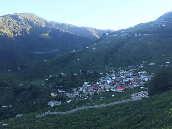 Heping District, Taichung: Sqoyaw village, view from route 7B