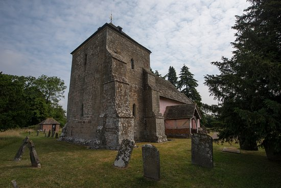 Kempley, UK: Kempley St Mary's western aspect