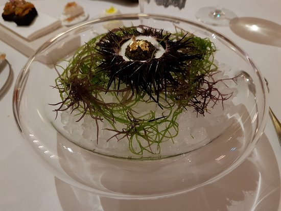 Uni And Caviar Fine Dining At Its Best Picture Of Odette Singapore Tripadvisor