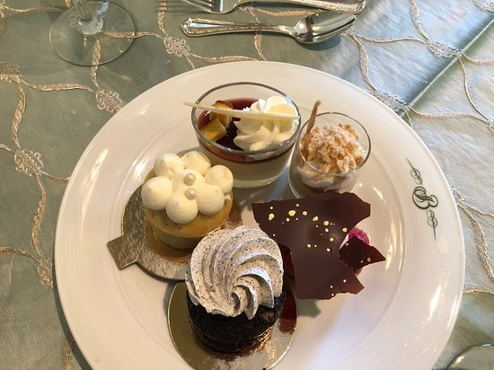 Lake Terrace Dining Room: Dessert plate #2.