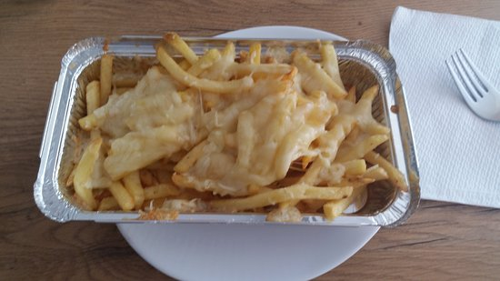 Baumholder, Germany: Cheese fries