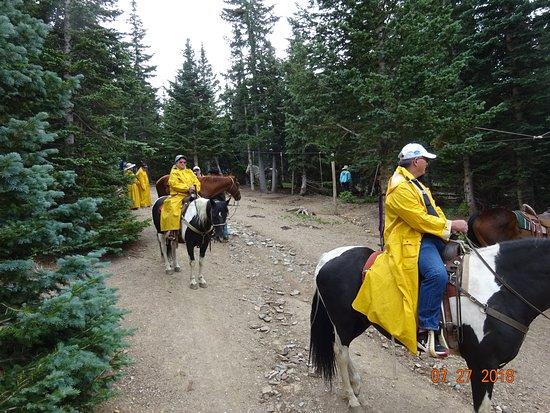 A.A. Taos Ski Valley Wilderness Adventures: Rain gear provided