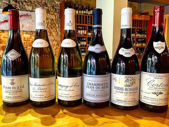 Petite selection bourguignonne - Picture of La Barrique ...