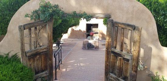 El Santuario de Chimayo: Front Entrance Gate