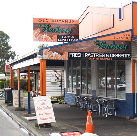 Boyanup, أستراليا: Boyanup Bakery and Cafe