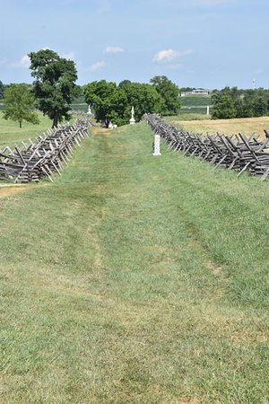 Sharpsburg, Maryland: Sunken Lane, over 5,000 men were kiiled or wounded here