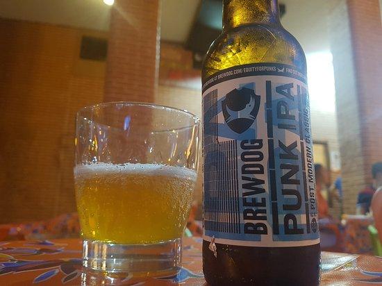 Restaurante Mexicano Limon y Sal: Variedad de cervezas