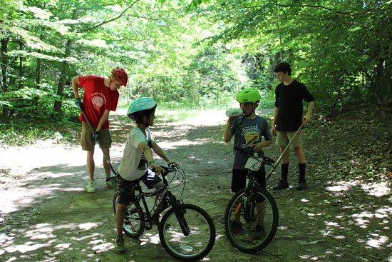 Mansfield, Kanada: Mountain Biking