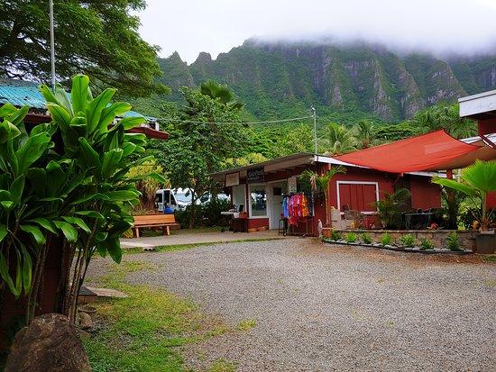 Kaneohe, HI: the grounds