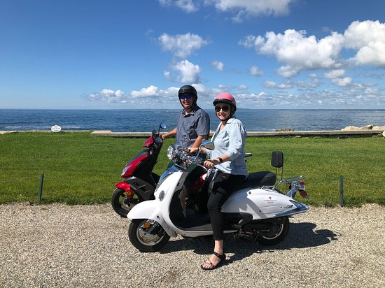 Coastal Maine Scooter Rentals: Enjoyed Taking the Scooters around Kennebunkport!