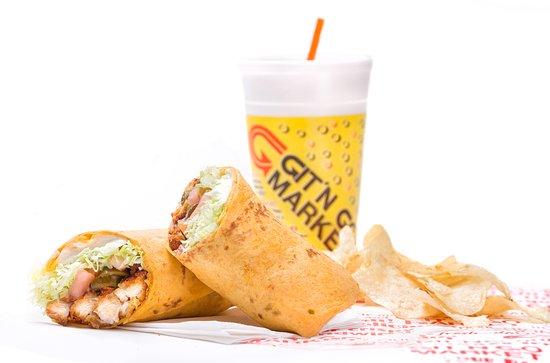 Clinton, TN: Spicy Chicken & Jalapeno Wrap