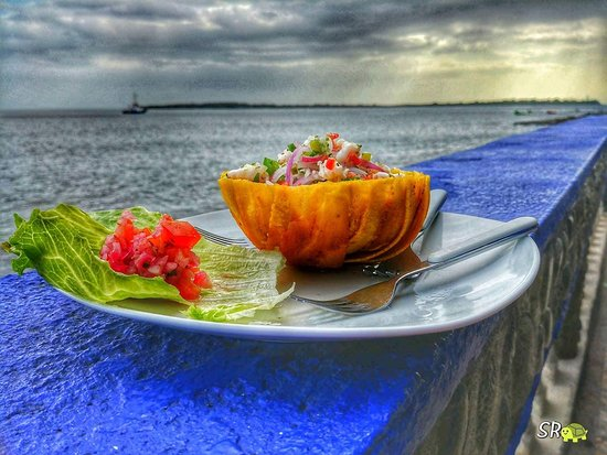 Corinto, Nicaragua: Delicioso ceviche.