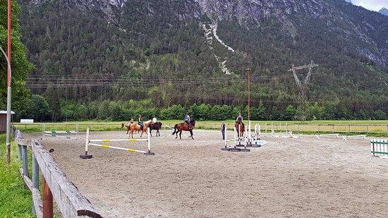 Amlach, Austria: манеж
