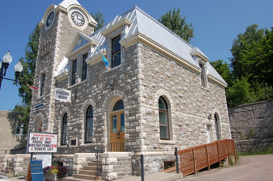 The Bonnechere Museum is house in the former post office, right in downtown Eganville