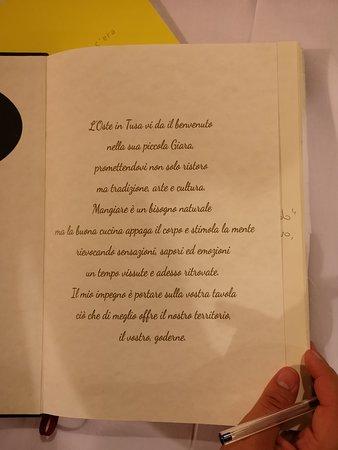 Tusa, Olaszország: guest book