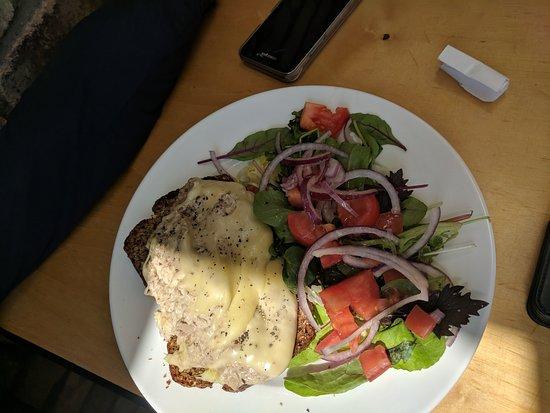 Sallins, Ирландия: The gravy, bread, chicken and that salad, yum!!
