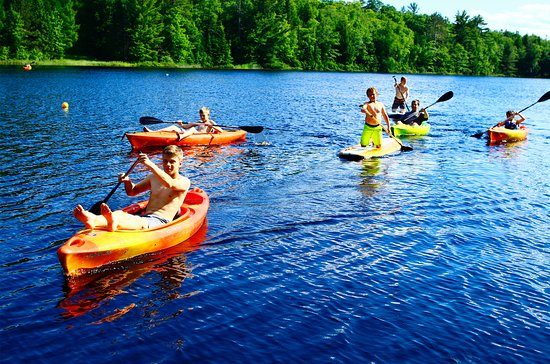 Phelps, WI: Kayaking and Paddle Boarding on the Lake!