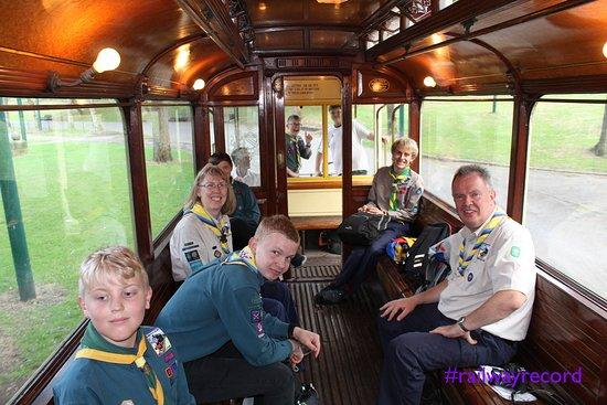 Heaton Park Tramway: Our #railwayrecord team