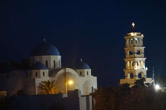 Church of TImios Stavros: de nuit