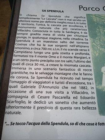 Villacidro, Italie : Cascata Sa Spendula