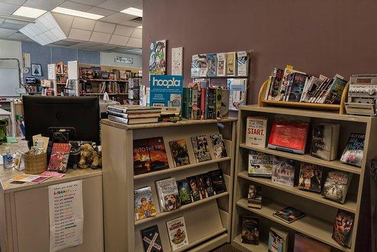 Alberta, Canada: Book display
