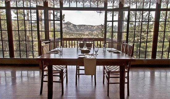 The View Restaurant At The Historic Crags Lodge Estes Park
