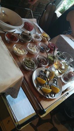 Konoba Daniela: tartar beef to be prepared