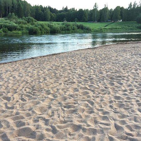 Река Угра. Пляж Натальинка. Колыхманово. Юхнов