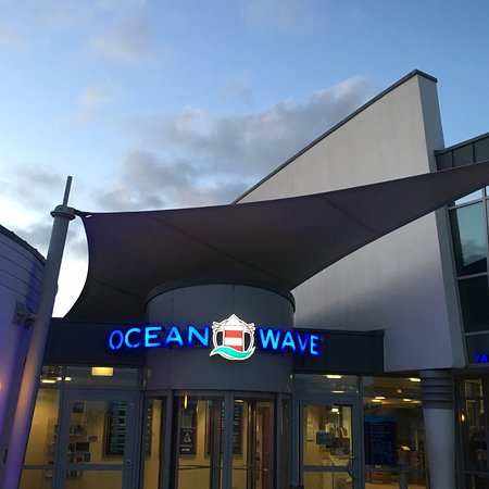 Norden, Germany: Ocean Wave