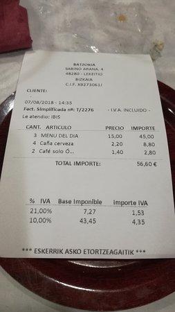 imagen Restaurante Batzokia Lekeitio en Lekeitio