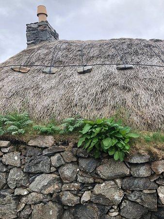 Gearrannan Blackhouse Village: Blackhouse thatched roof