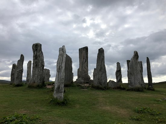 Carloway, UK: Callanish Stones near Blackhouse Village