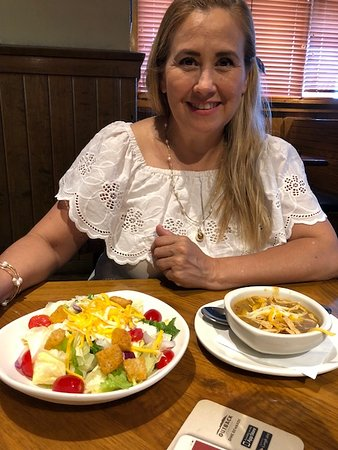 tortilla soup and a garden salad picture of outback steakhouse el paso tripadvisor outback steakhouse el paso tripadvisor