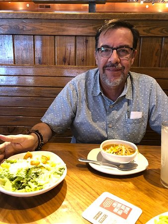 enjoying soup and salad picture of outback steakhouse el paso tripadvisor outback steakhouse el paso tripadvisor