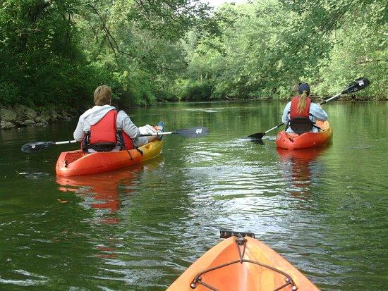 Greenville, PA: Family outing on Shenango River