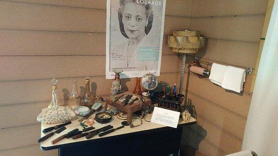 Clarksburg, Canada: Hair salon at the museum