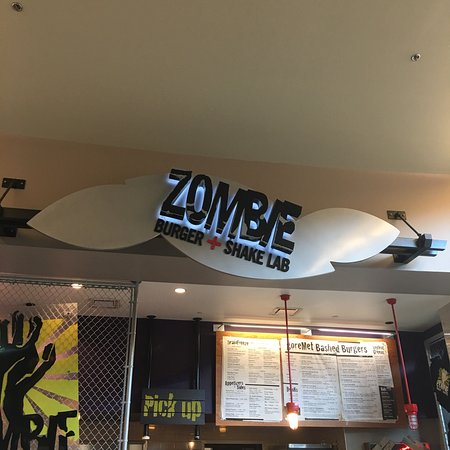 Zombie Burger And Shake Lab West Des Moines Restaurant