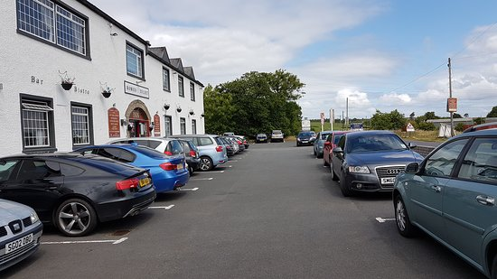 Dalry, UK: CAR PARK