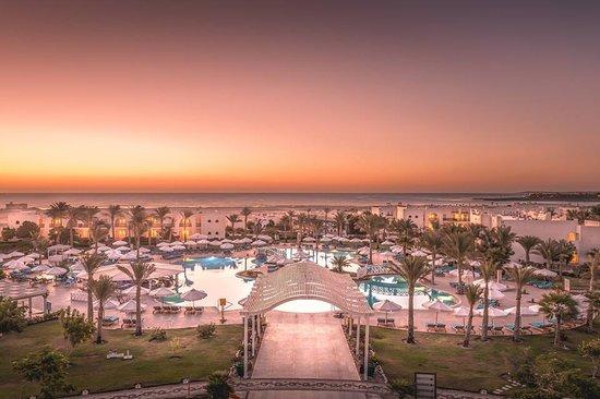 Sunset   - Picture of Hilton Marsa Alam Nubian Resort - Tripadvisor