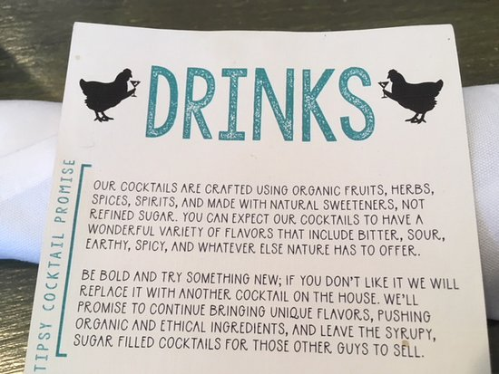 Elk River, MN: They know how to mix hand-crafted cocktails. They want you to be happy with whatever you order!