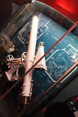 Cranbrook Institute of Science:  Telescope 