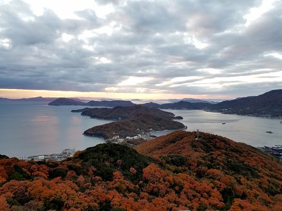 Shodoshima-cho, Japan: A superb view overlooking the island