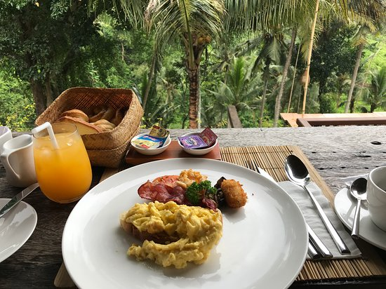 american breakfast picture of bucu view resort ubud tripadvisor rh tripadvisor com