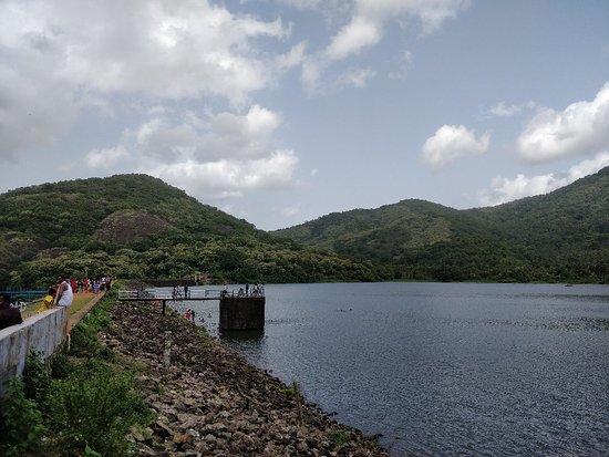 Courtallam, Indien: Dam