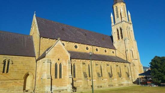 Mudgee, Austrália: Beautiful church at sunrise.