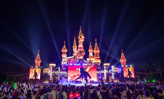 Shenyang, Chine: 夜场主舞台