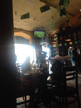 Paraty 33: Bar estava decorado para a copa