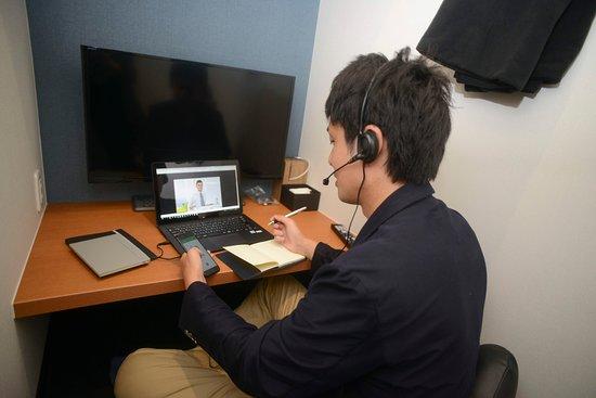 Kashiwa, اليابان: 防音なので、電話をしながら仕事をすることも出来ます。