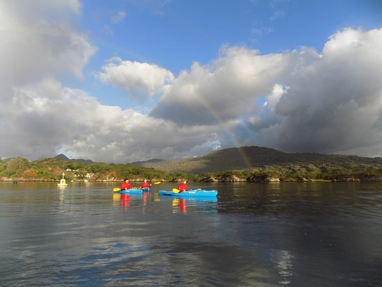 Sunrise Sea Kayaking Trip Across Glengarriff Bay
