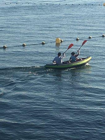 Mar Menor, Španielsko: Kayak